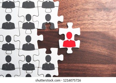 Human resource management. Selecting person for organization.
