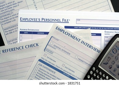 Human Resources Forms and PDA