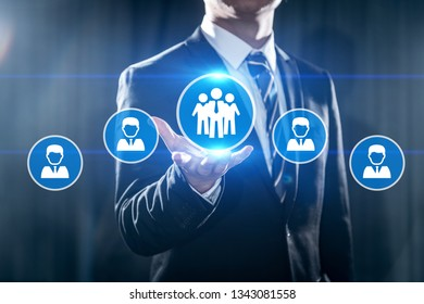 Human Resources HR management Recruitment Employment Headhunting
