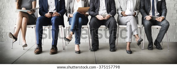 Personalübersicht Rekrutierung Job-Konzept