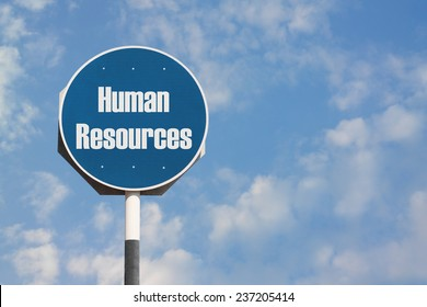 Human Resources Sign