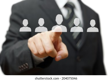 Human resources,partnership,choosing partner