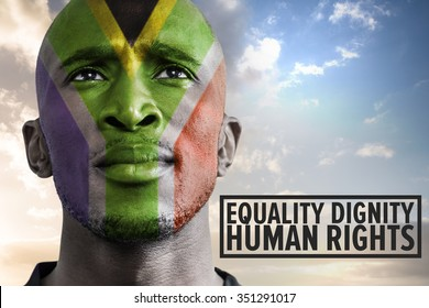 human rights against south african man