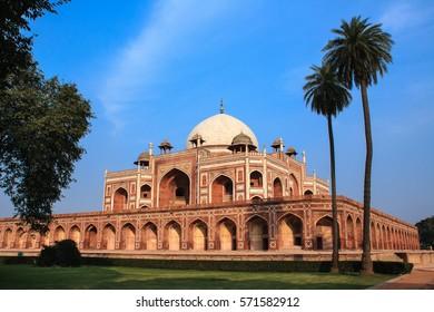 Humayun Tomb in New Delhi, India