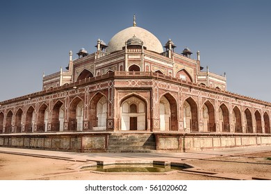 Humayun's tomb, built in the 16th century; is the resting place of the Mughal Emperor Humayun in Delhi, India. It is a UNESCO World Heritage site.