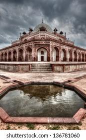 Humayun's Tomb. Delhi, India. HDR image