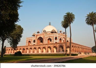 Humayun's Tomb in New Delhi, India.