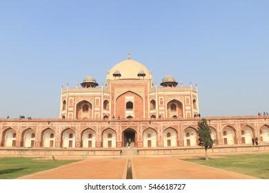 Humayun's Tomb, New Delhi, India - landmarks, palace, place, india, indian