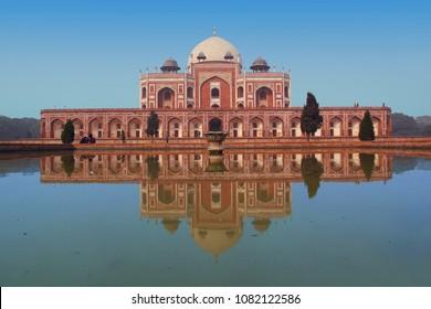 Humayun's tomb in New Delhi - UNESCO World Heritage Site