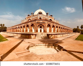 """""""HUMAYUN'S TOMB"""",Humayun's tomb is the tomb of the Mughal Emperor Humayun in Delhi, India. The tomb was commissioned by Humayun's first wife and chief consort, Empress Bega Begum, in 1569-70."""