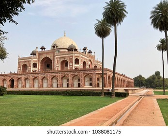 """HUMAYUN'S TOMB"",Humayun's tomb is the tomb of the Mughal Emperor Humayun in Delhi, India. The tomb was commissioned by Humayun's first wife and chief consort, Empress Bega Begum, in 1569-70."
