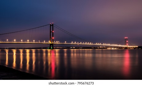Humber Bridge from Barton, Yorkshire
