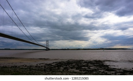 The Humber Bridge, near Kingston upon Hull