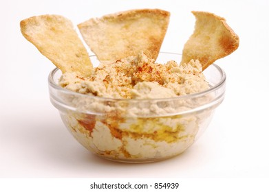 Hummus with Pita Wedges
