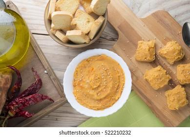 Hummus of yam