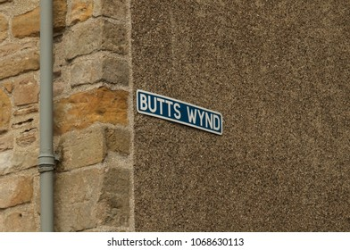 Humores Street Sign, St. Andrews, Scotland