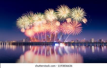 Hunan Changsha 5A level scenic spot tourist business card Orange Island Xiangjiang scenery with international music fireworks show