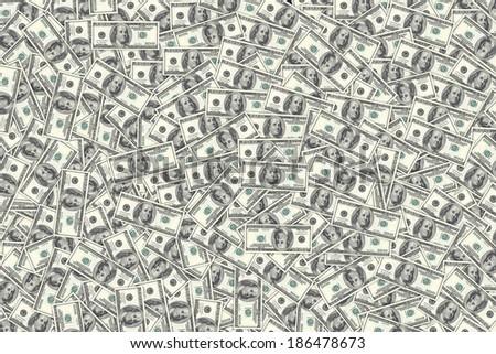 hundred dollar bills background money pile stock photo edit now