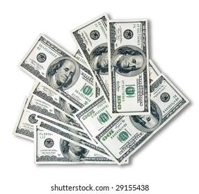 Hundred dollar notes