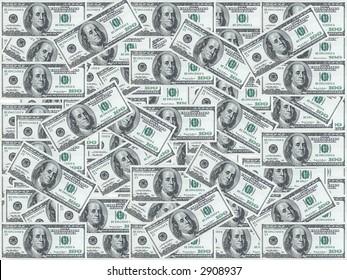 Hundred dollar notes design