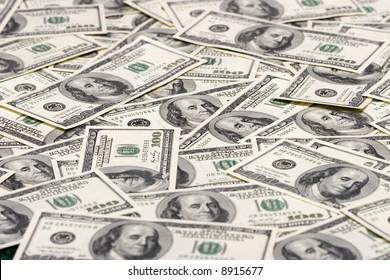 Hundred dollars background