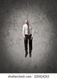 Hung businessman