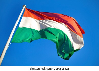 Hungarian Flag High Speed Capture