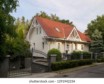 Hungarian house with gable roof
