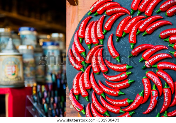 hungarian paprika gift at budapest