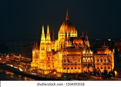 The Hungarian Parliament Building, also known as the Parliament of Budapest.One of Europe's oldest legislative buildings, a notable landmark of Hungary and a popular tourist destination of Budapest