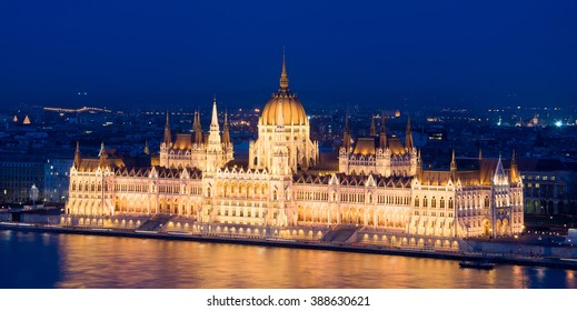 The Hungarian Parliament Building, also known as the Parliament of Budapest.One of Europe's oldest legislative buildings, a notable landmark of Hungary and a popular tourist destination of Budapest.