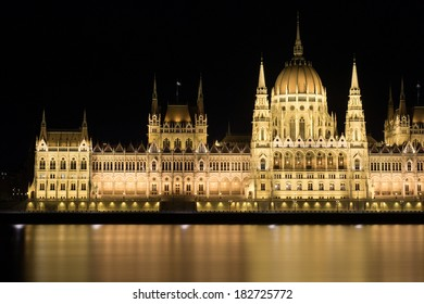 The Hungarian Parliament Building is the seat of the National Assembly of Hungary, one of Europe's oldest legislative buildings, landmark of Budapest in Hungary.
