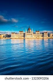 The Hungarian Parliament with river Danube