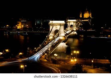 Hungary bridge Lánchíd