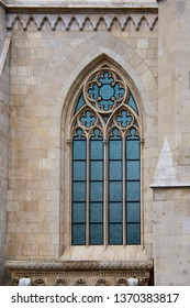 Hungary Buda Castle Matthias Church Stone Window