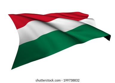 Hungary flag - collection no_5