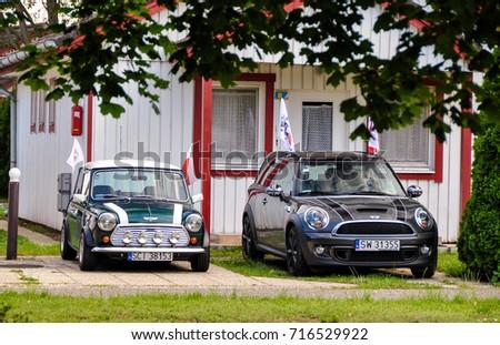 Hungary May 2012 Mini Clubman Classic Stock Photo Edit Now