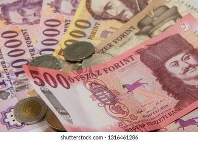 Hungaryan Forint paper