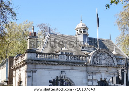 Hungerford House Victoria Embankment London Stock Photo Edit Now