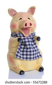 Hungry piggy bank.