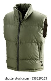 hunter vest isolated,hunting cloth