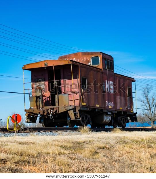 Huntersville Nc February 2 2019 Abandoned Stock Photo (Edit