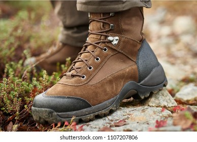 Hunting boots brown