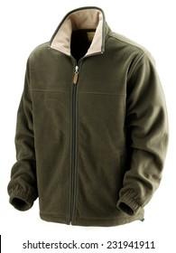 hunting polar jacket isolated