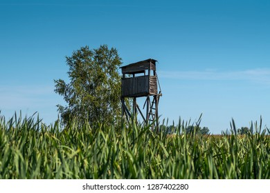 hunting pulpit among fields and meadows