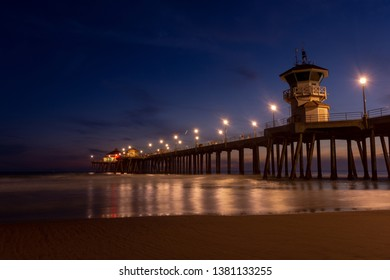 Huntington Beach Pier, California USA