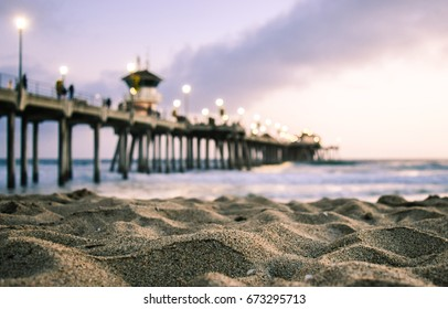 Huntington Beach Pier, Beach Sunset