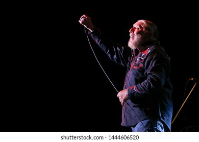 HUNTINGTON, NY - JUN 27: Doug Gray of the Marshall Tucker Band performs in concert at the Paramount on June 27, 2019 in Huntington, New York.