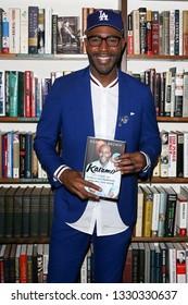 "HUNTINGTON, NY - MAR 4: Karamo Brown signs copies of his book ""Karamo: My Story of Embracing Purpose, Healing and Hope"" at Book Revue on March 4, 2019 in Huntington, New York."