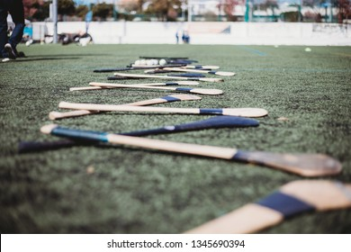 Hurls on pitch